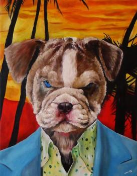 Scarface Dog Splendid Beast - Big