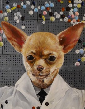 Scientist Dog Splendid Beast - Big