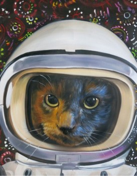 Space Cadet Cat Splendid Beast- Big