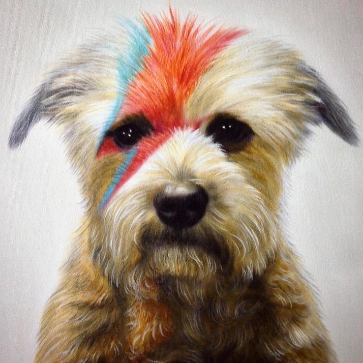 Dog David Bowie Aladdin Sane