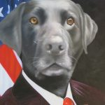 Politician Dog Painting