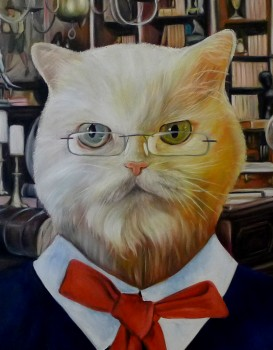 Librarian Cat Splendid Beast - Big
