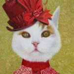 Cat Portrait as Victorian