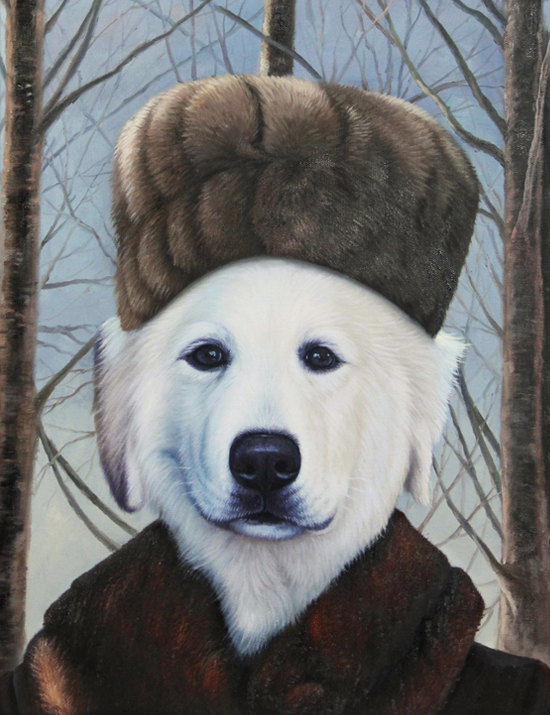 the russian pet painting splendid beast