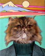 Pet Art Islander Cat Painting Template