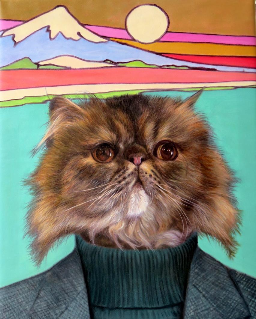 Islander Splendid Beast Pet Portrait Template