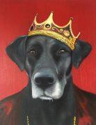 royal dog painting
