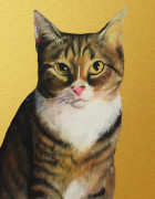 Cat Oil Painting Portrait Template from Splendid Beast