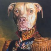 Dog painting of Arch Duke