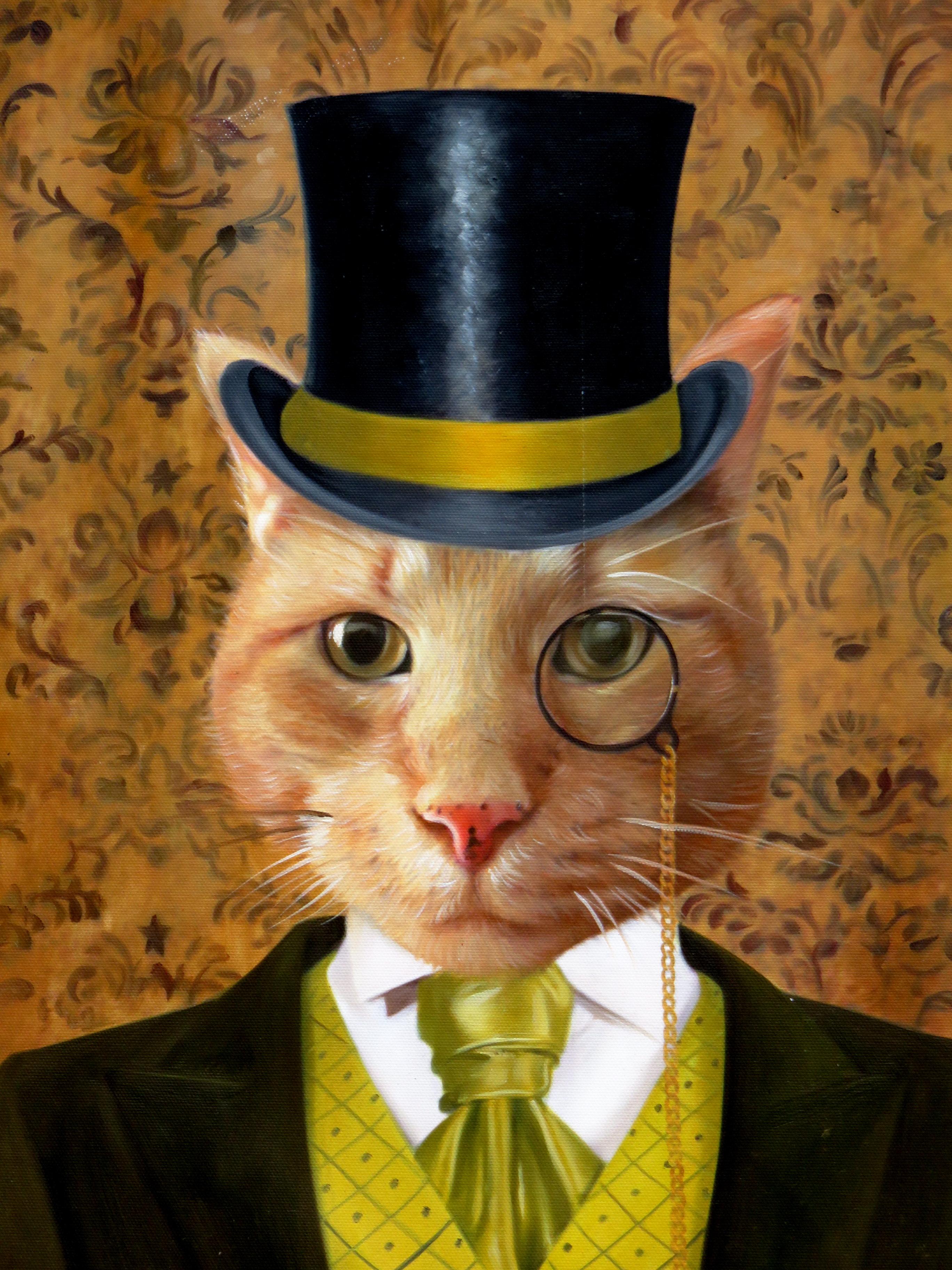 Aristocrat Cats Amp Aristocrat Dogs Splendid Beast Pet Portrait Template