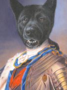 Pet Art Royal Dog Oil Portrait