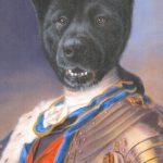 Pet Art Royal Dog Oil Portrait