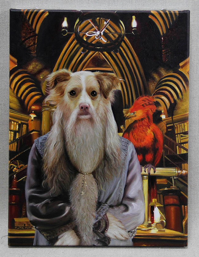 dumbledore portrait