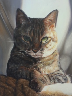 as is cat painting