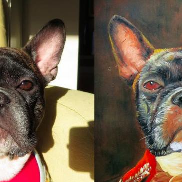 French Bulldog Painting by Splendid Beast