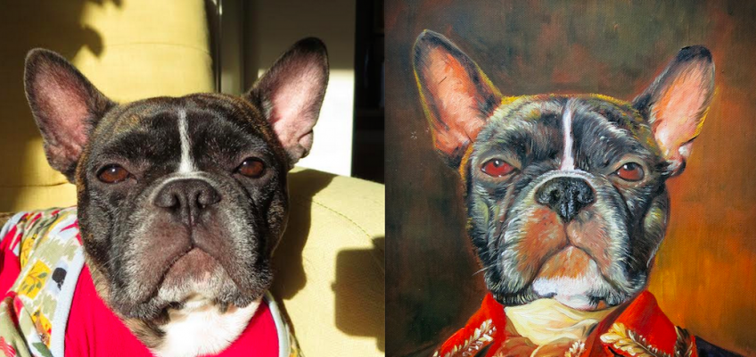 French Bulldog Painting by Splendid Beast