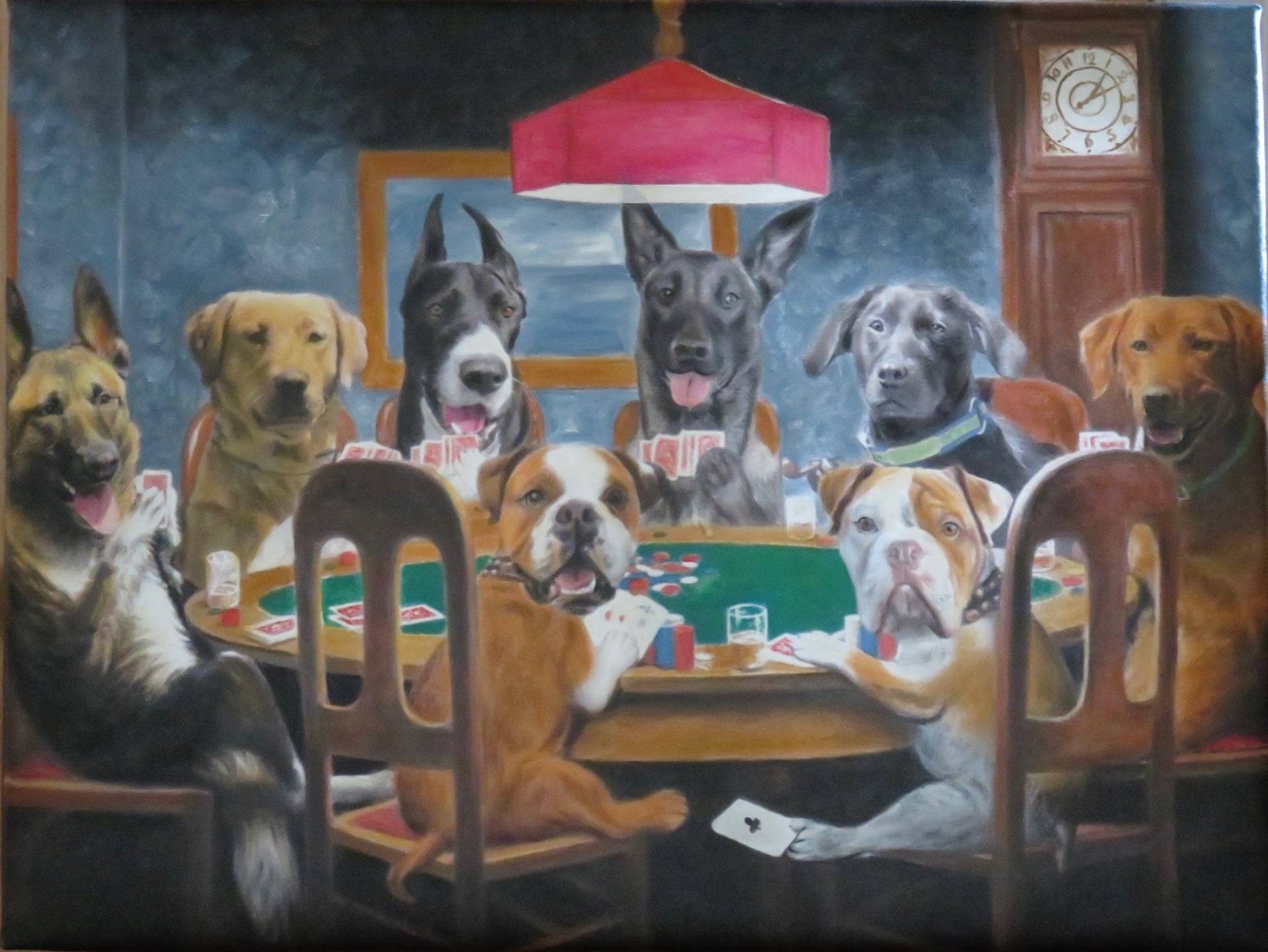 coolidge dogs painting