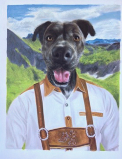 ffc36cbe4080 Pet Portraits | Pet Oil Paintings Like You've Never Seen!
