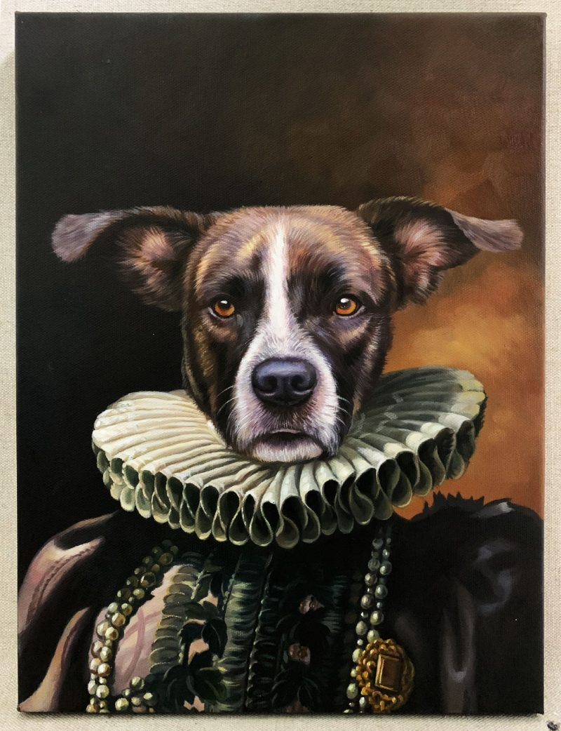 Dog Paintings Like You Ve Never Seen Splendid Beast