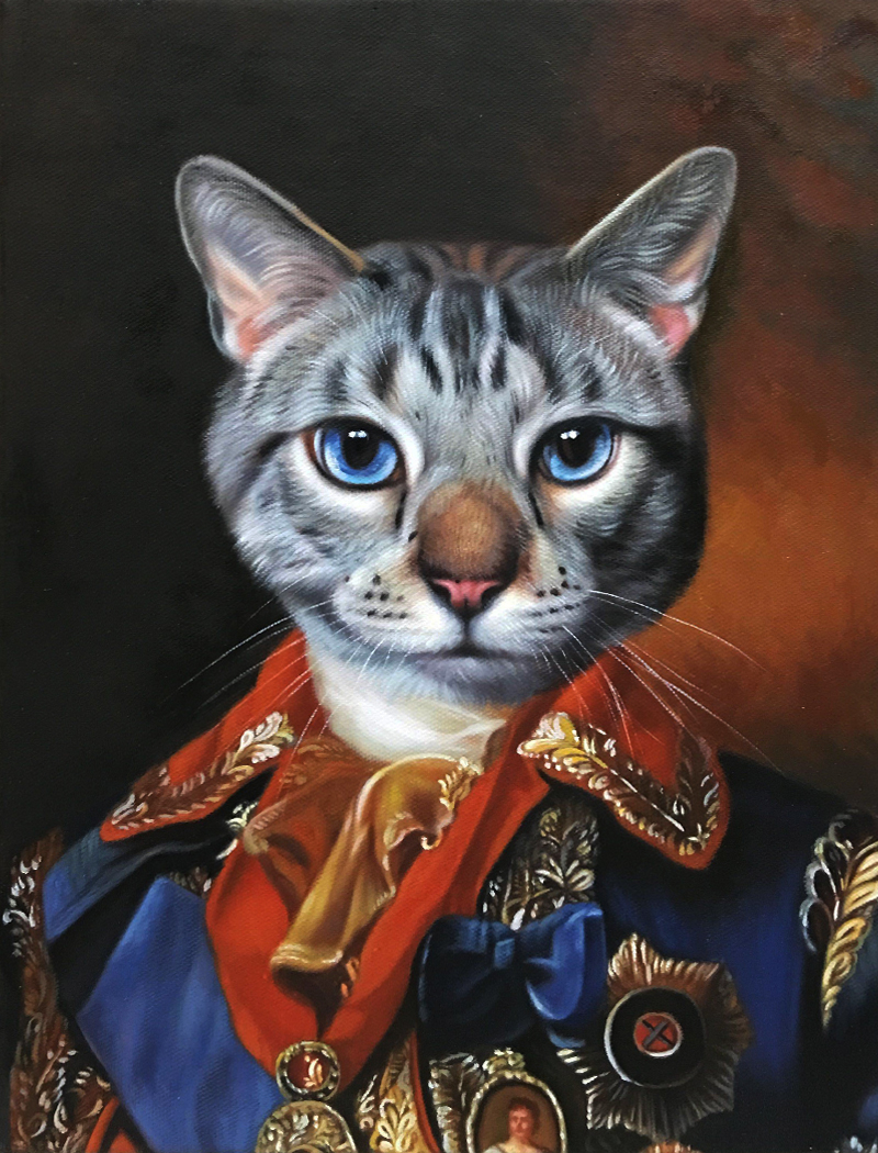 czar cat art